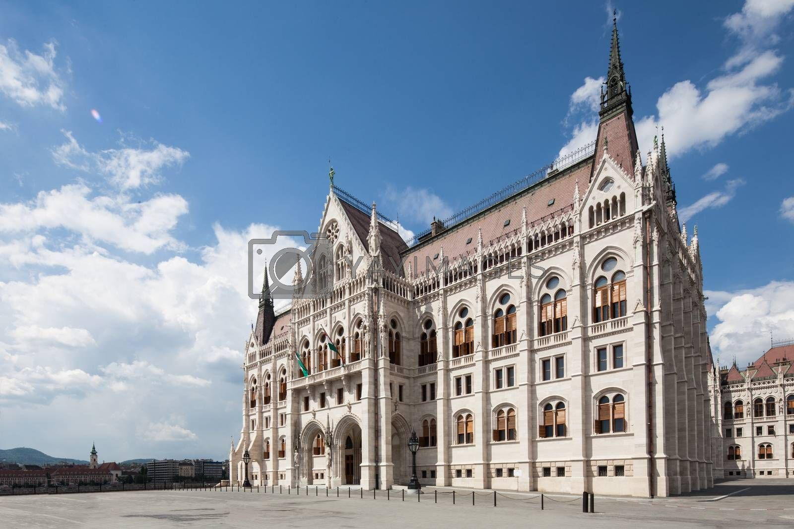 Royalty free image of Budapest, view of parliament by fikmik
