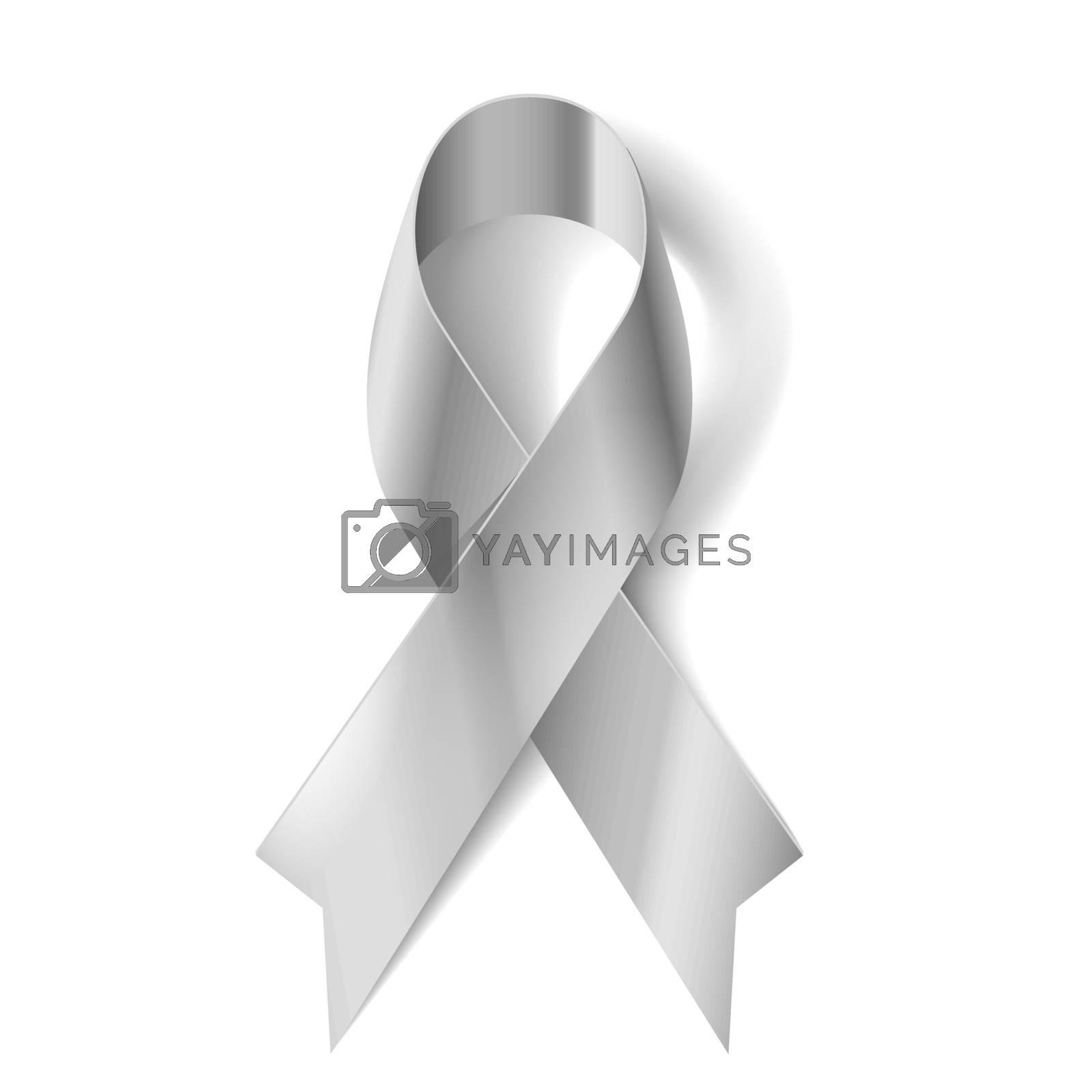 Royalty free image of Silver ribbon by dvarg
