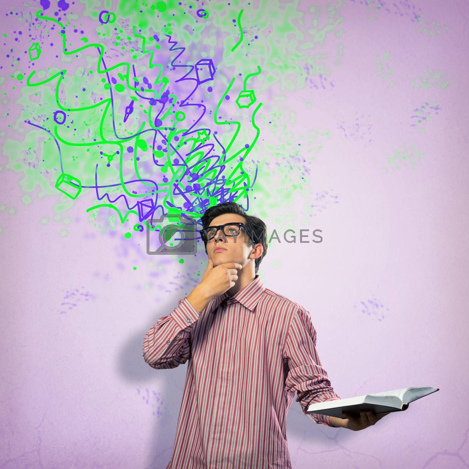 Royalty free image of creative mind by adam121