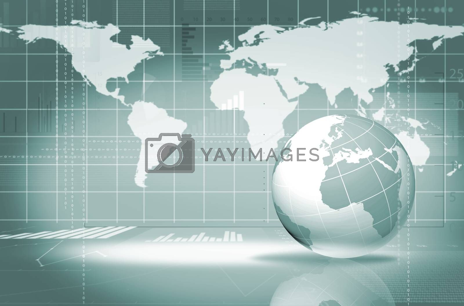 Royalty free image of abstract business background by adam121