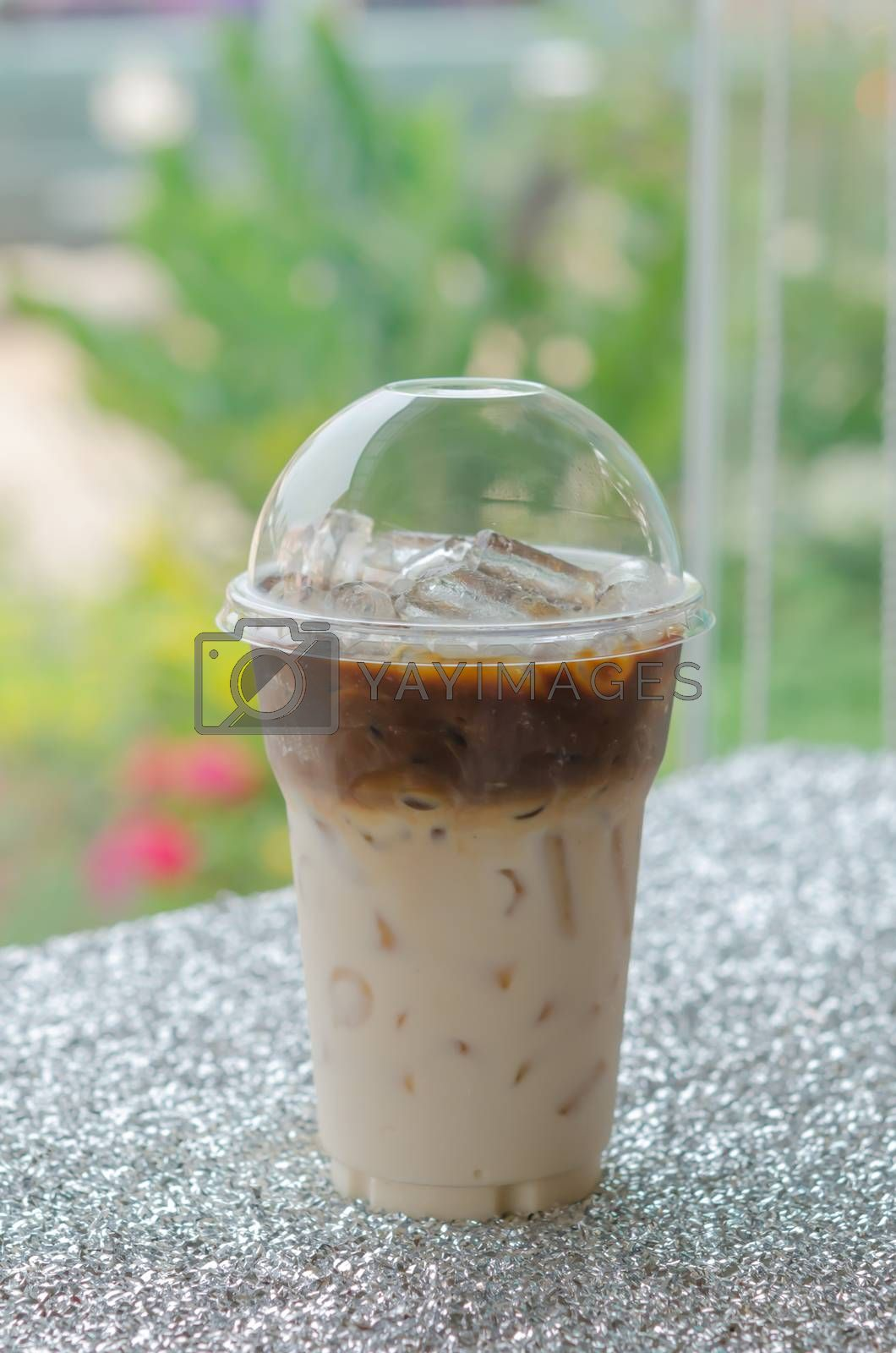 Royalty free image of Iced coffee  for take aways by rakratchada