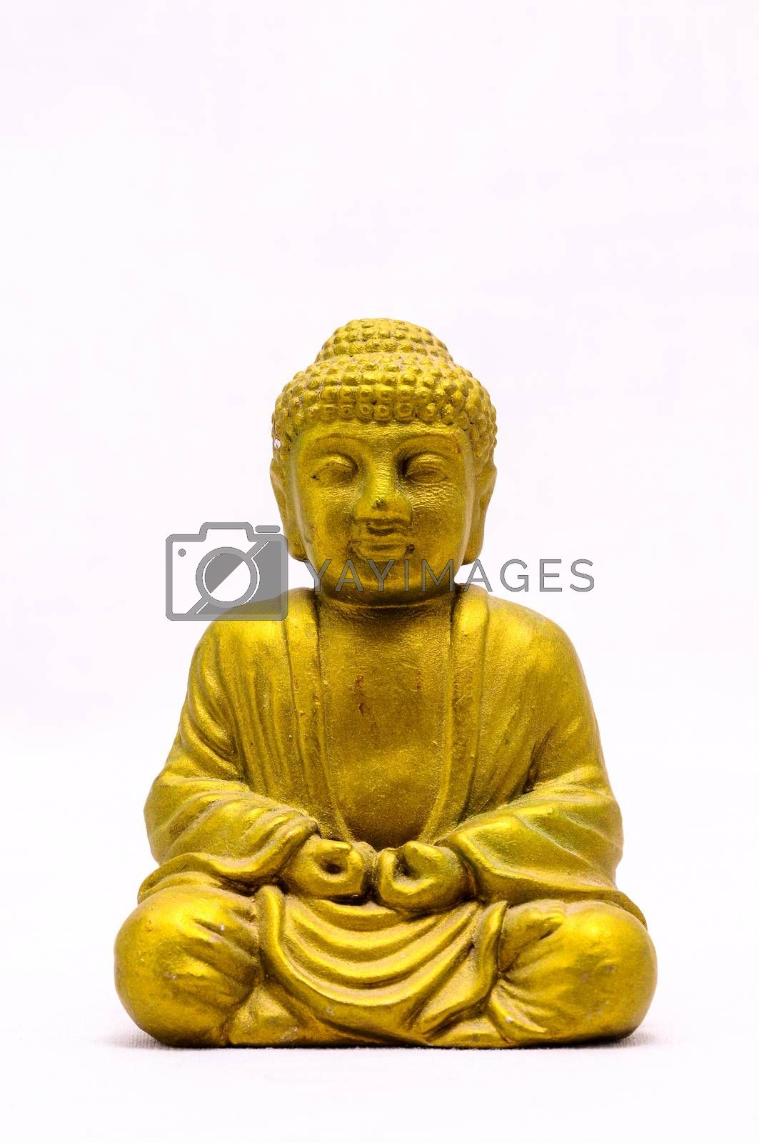 Royalty free image of Oriental Statue by underworld
