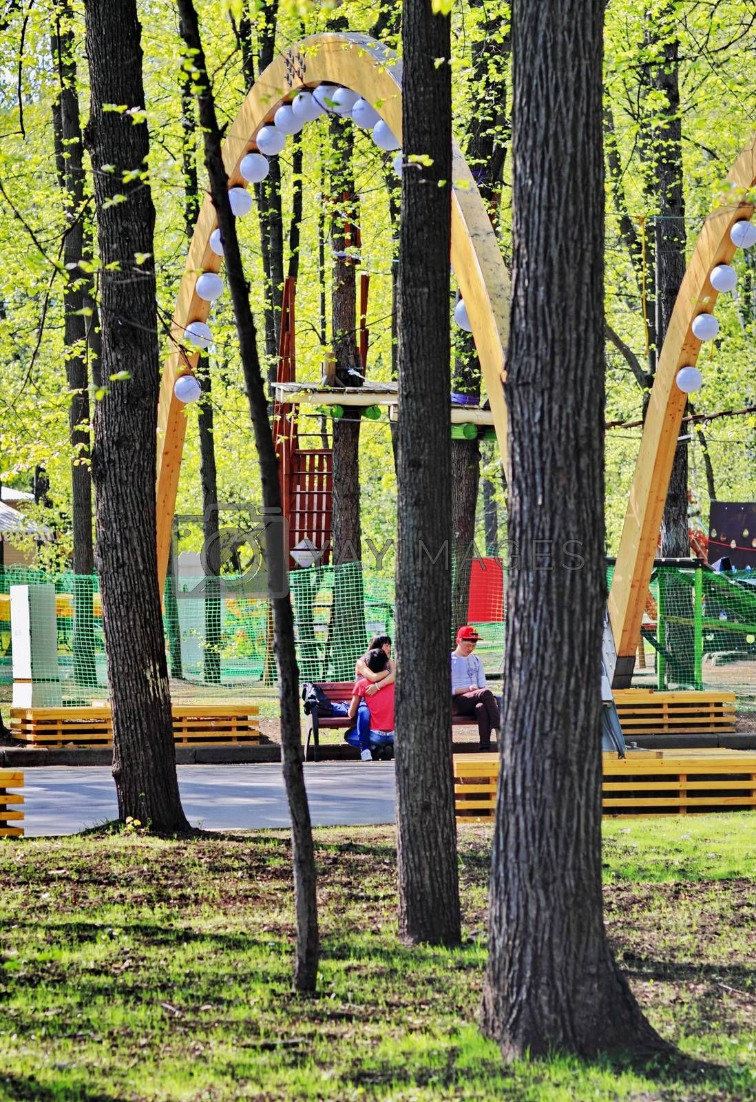 Royalty free image of Moscow Park Sokolniki by victorych