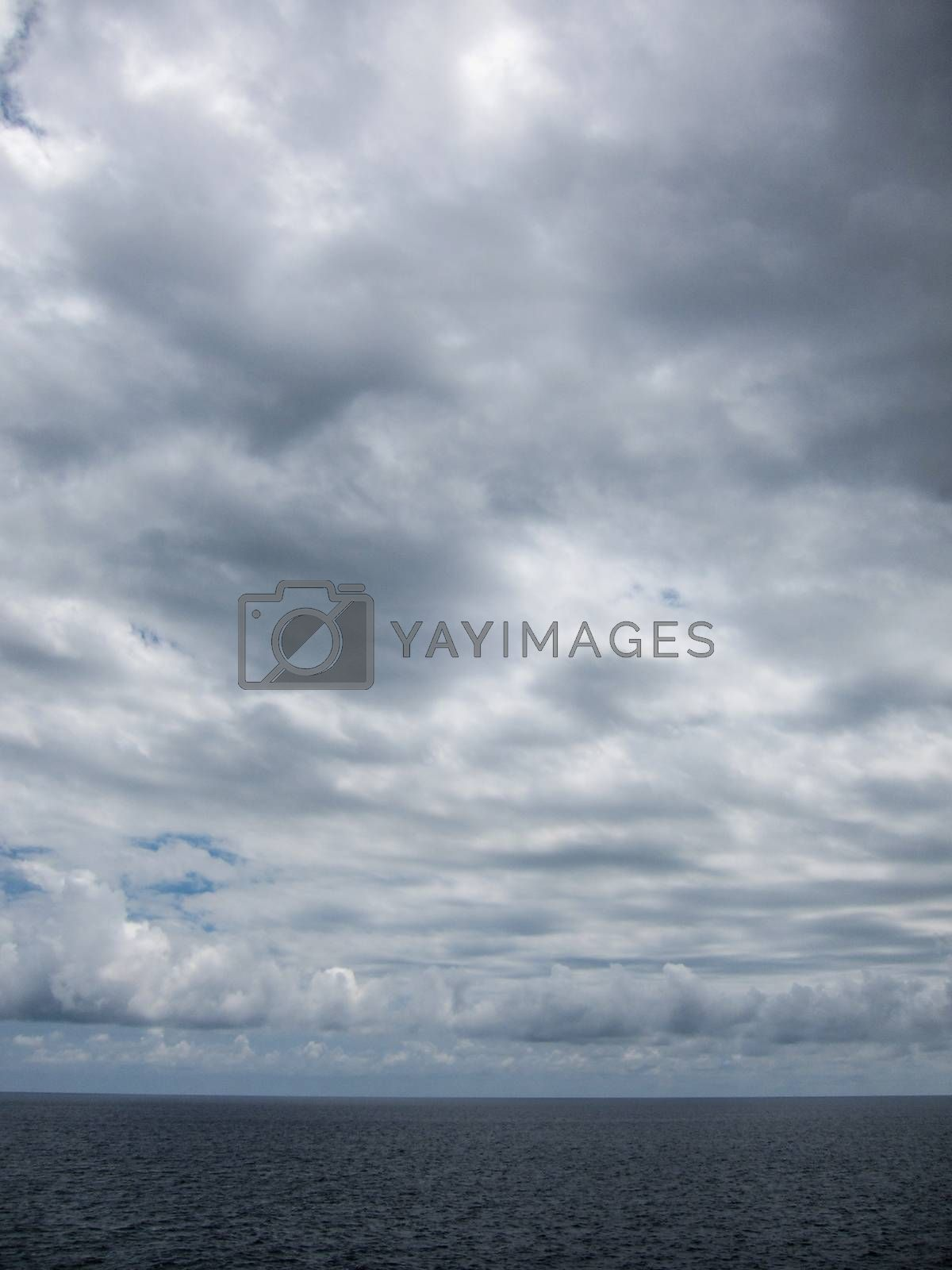 Royalty free image of Wndy Clouds On The Evening Sky by underworld