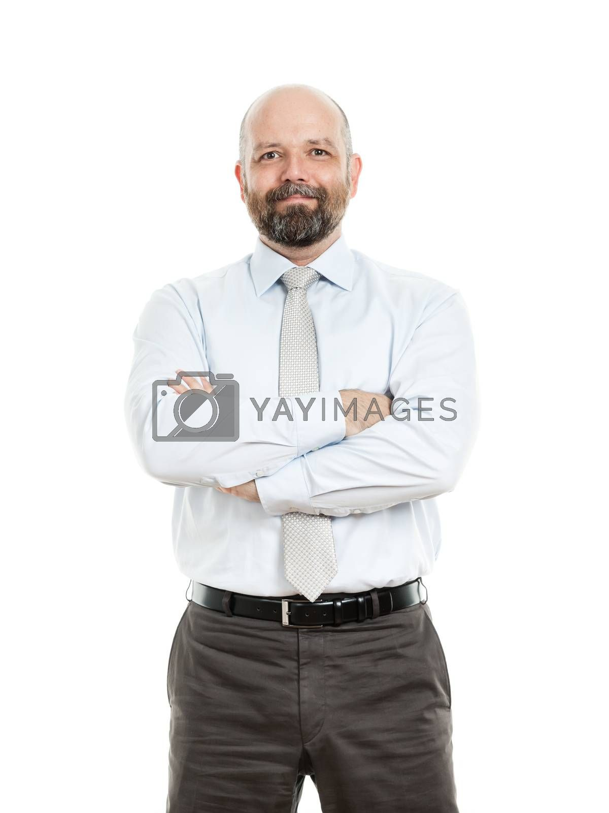 Royalty free image of business man by magann
