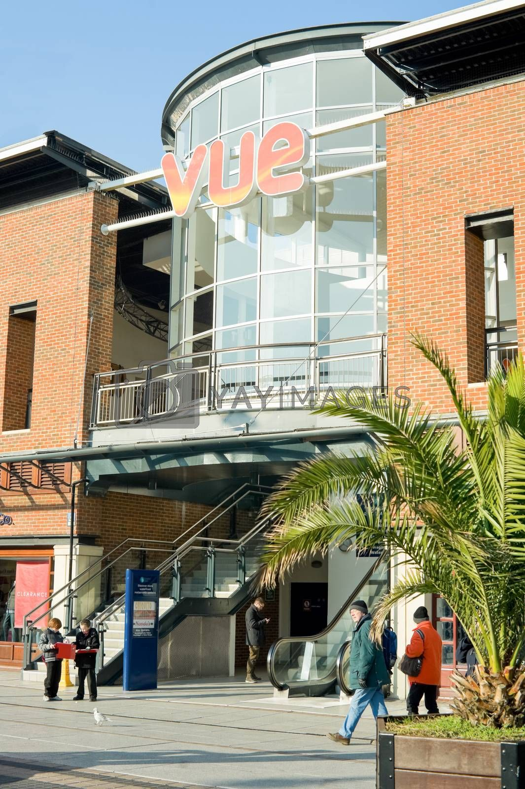 Royalty free image of vue cinema by nelsonart