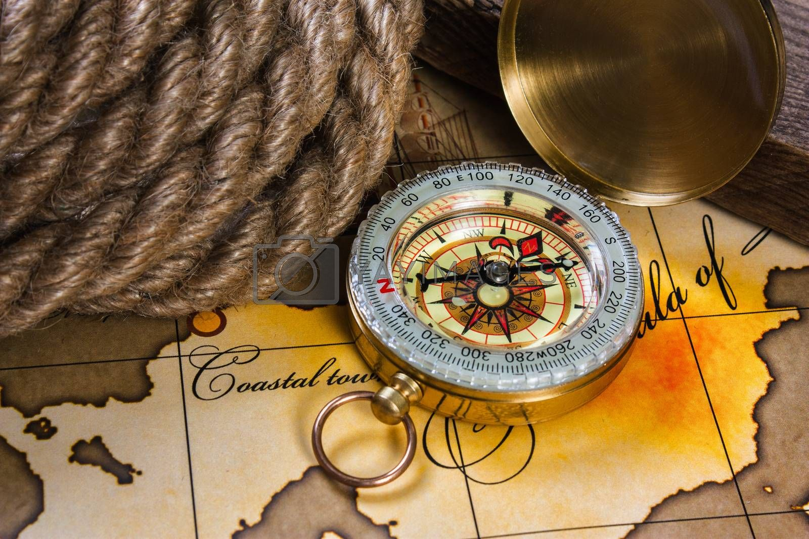 Royalty free image of Still life with things leisure and travel by oleg_zhukov