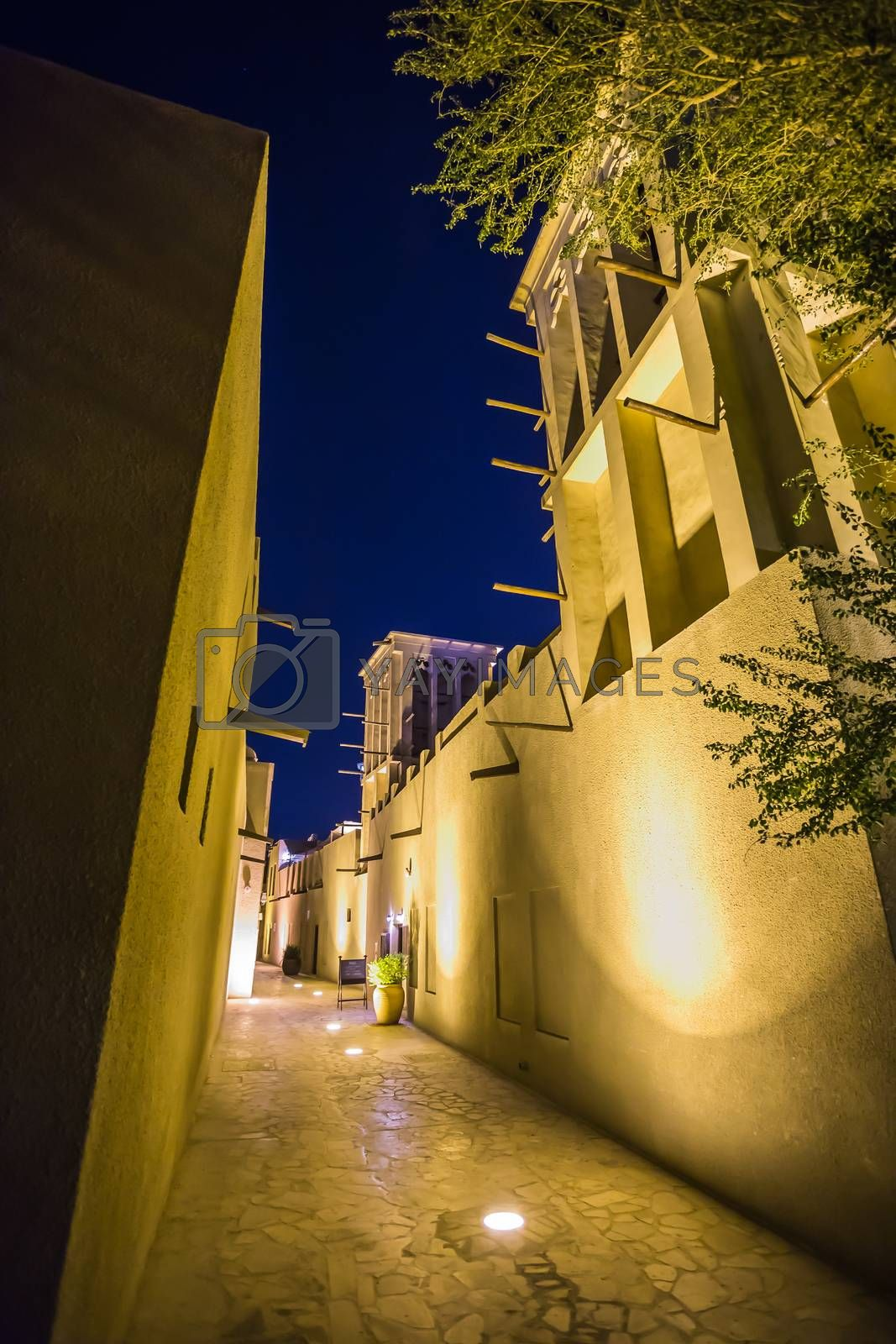 Royalty free image of Arab Street in the old part of Dubai by oleg_zhukov