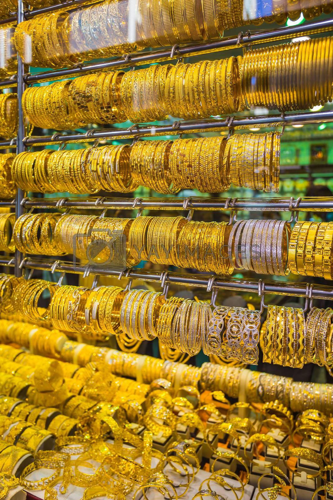Royalty free image of Gold market in Duba by oleg_zhukov