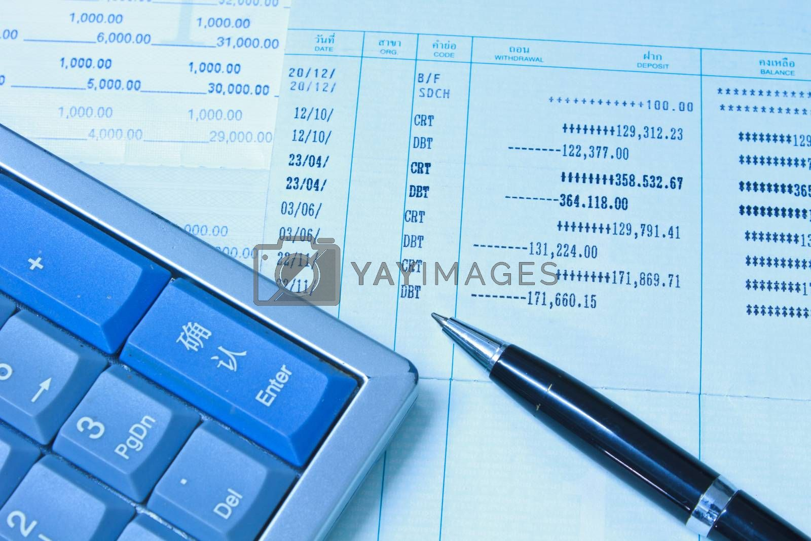 Royalty free image of Accounting  by forest71