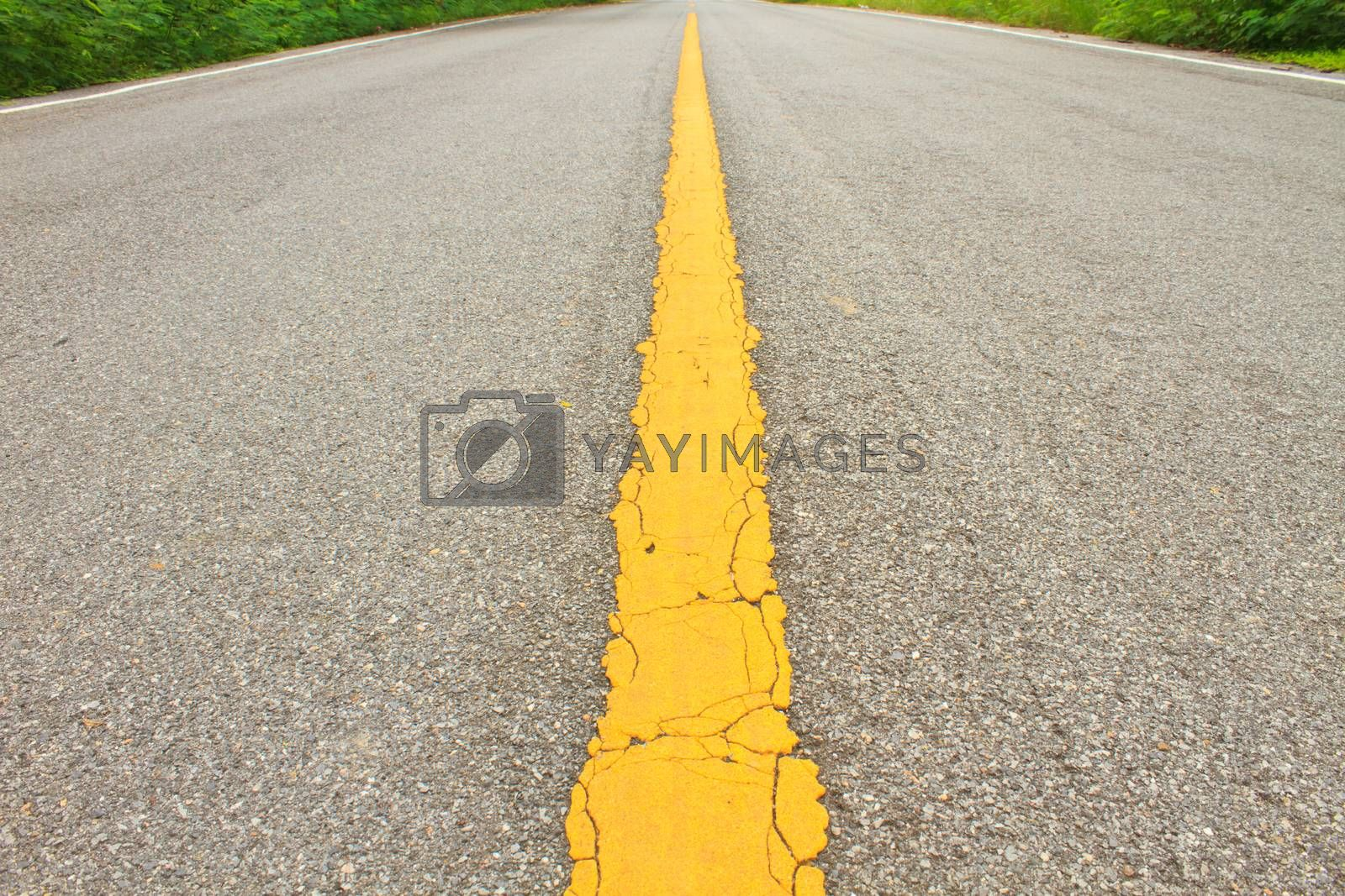 Royalty free image of Asphalt dark texture  by forest71