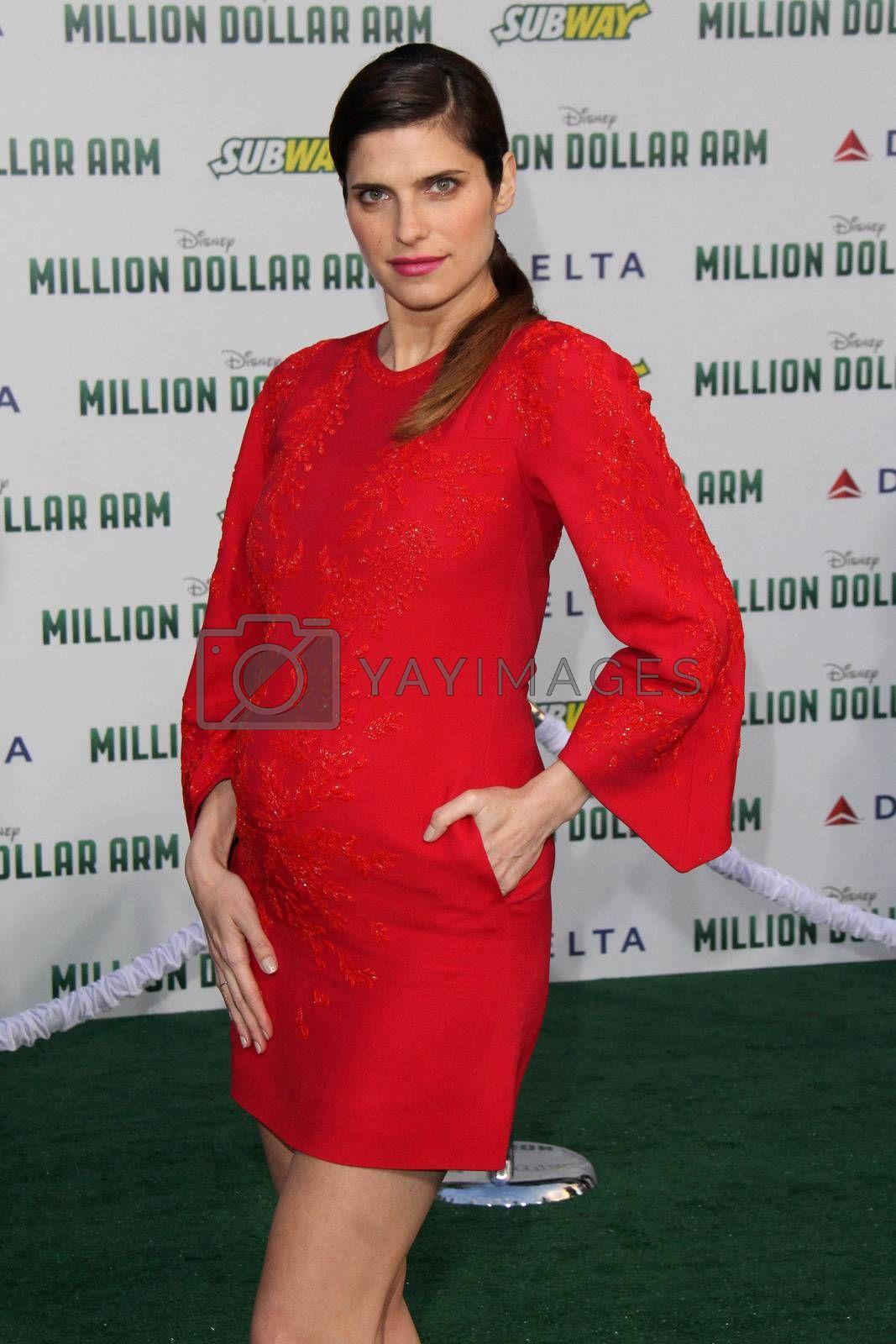 """Royalty free image of Lake Bell at the """"Million Dollar Arm"""" World Premiere, El Capitan, Hollywood, CA 05-06-14/ImageCollect by ImageCollect"""