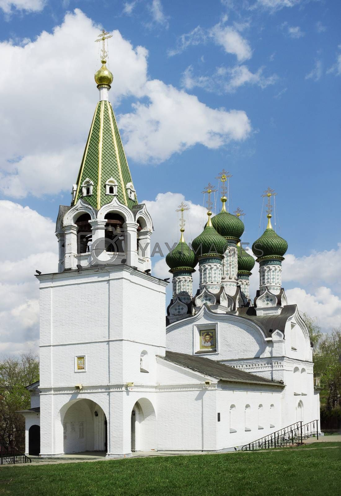 Royalty free image of Church of the Dormition of the Mother of God in Nizhny Novgorod by sever180