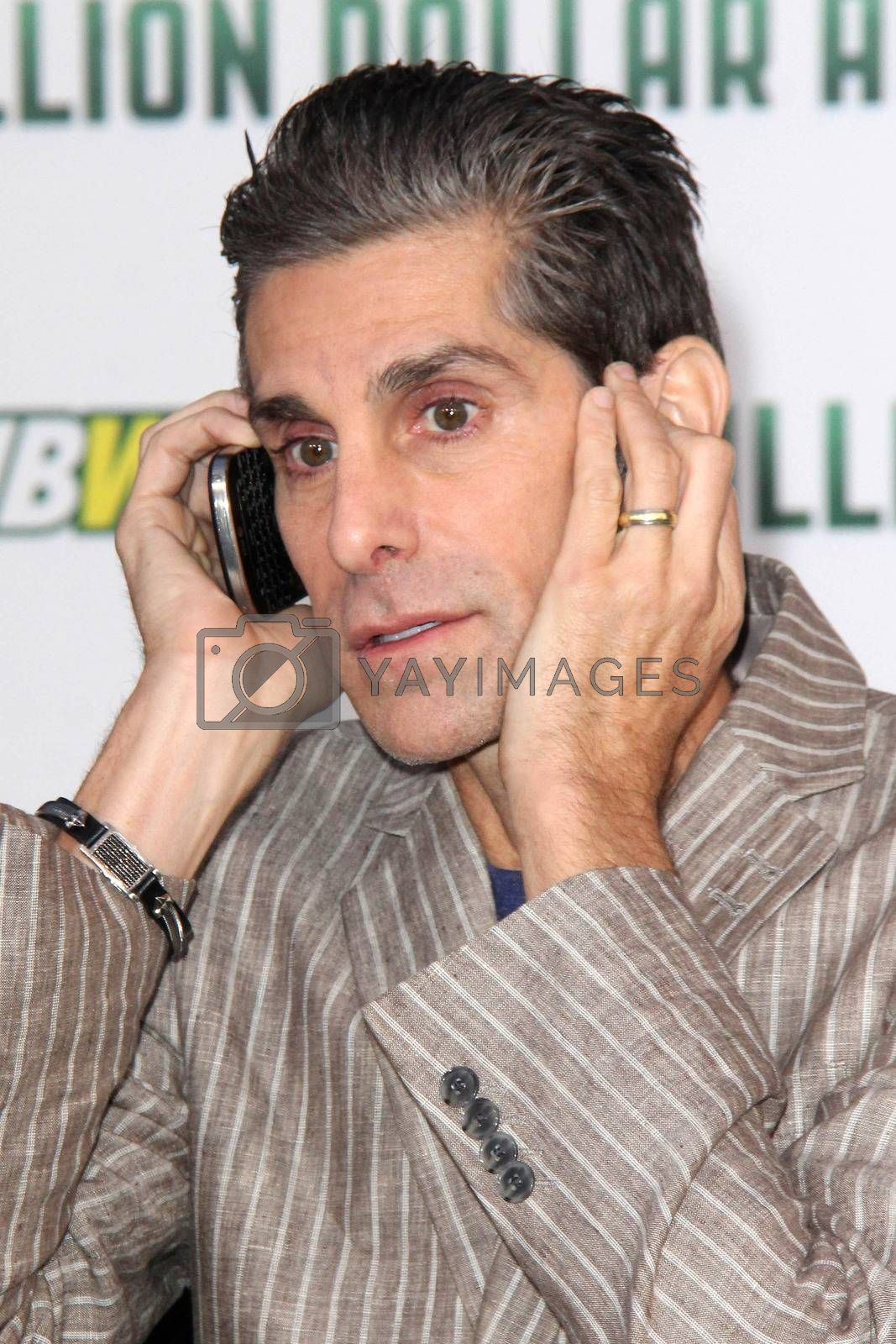 """Royalty free image of Perry Farrell at the """"Million Dollar Arm"""" World Premiere, El Capitan, Hollywood, CA 05-06-14/ImageCollect by ImageCollect"""
