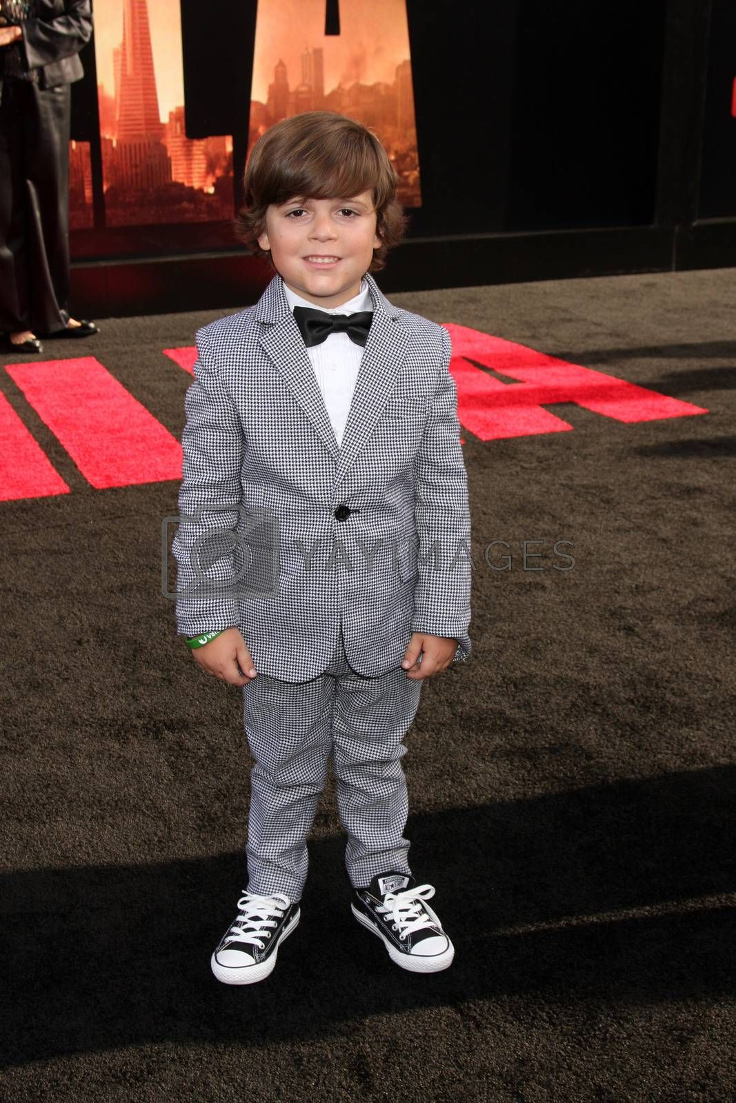 """Carson Bolde at the """"Godzilla"""" Los Angeles Premiere, Dolby Theater, Hollywood, CA 05-08-14/ImageCollect by ImageCollect"""