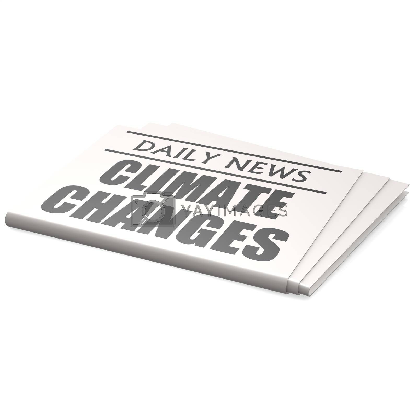 Newspaper climate changes by tang90246