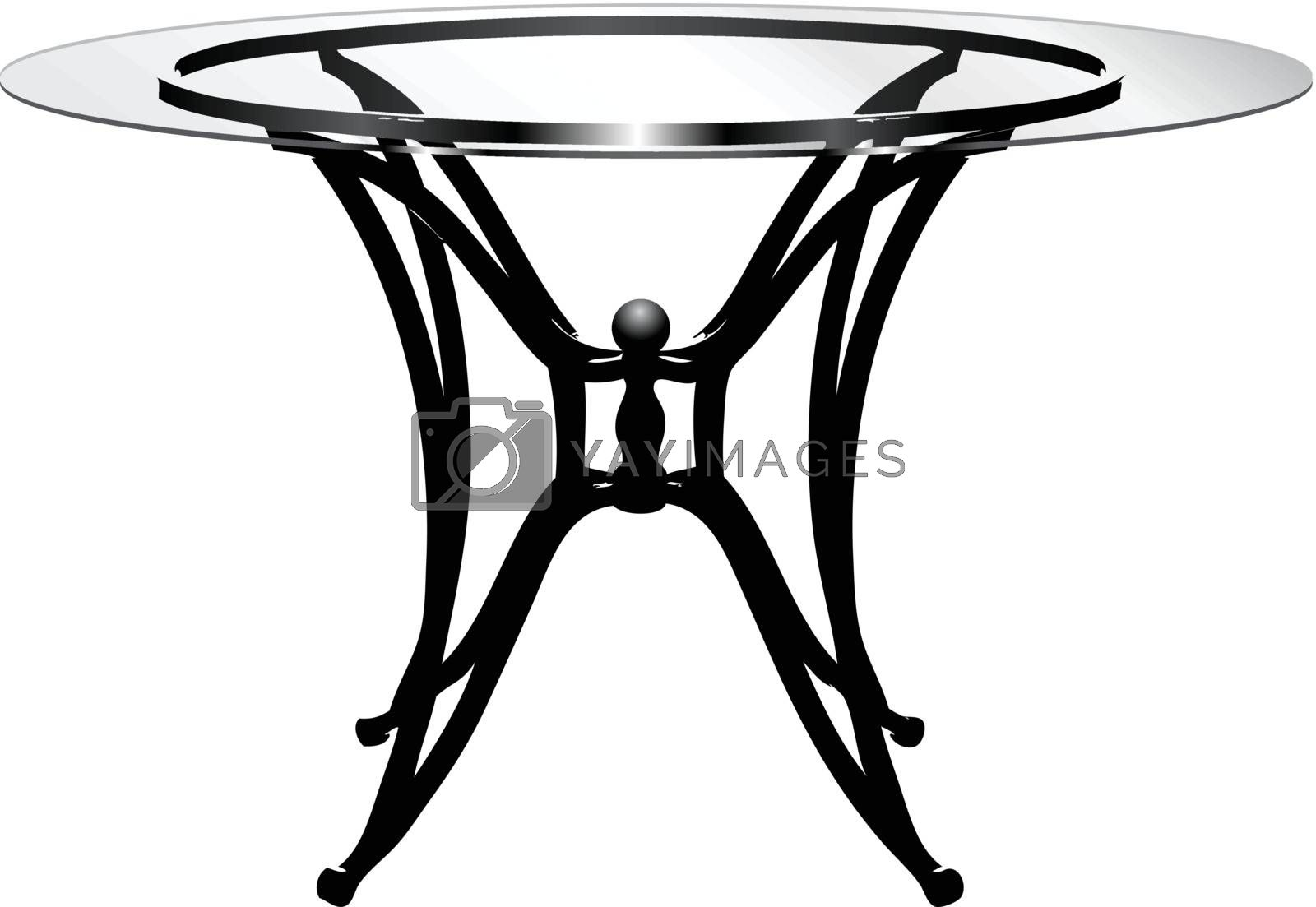Glass table by VIPDesignUSA