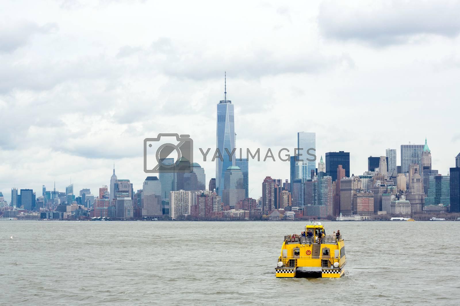 Lower Manhattan by vichie81