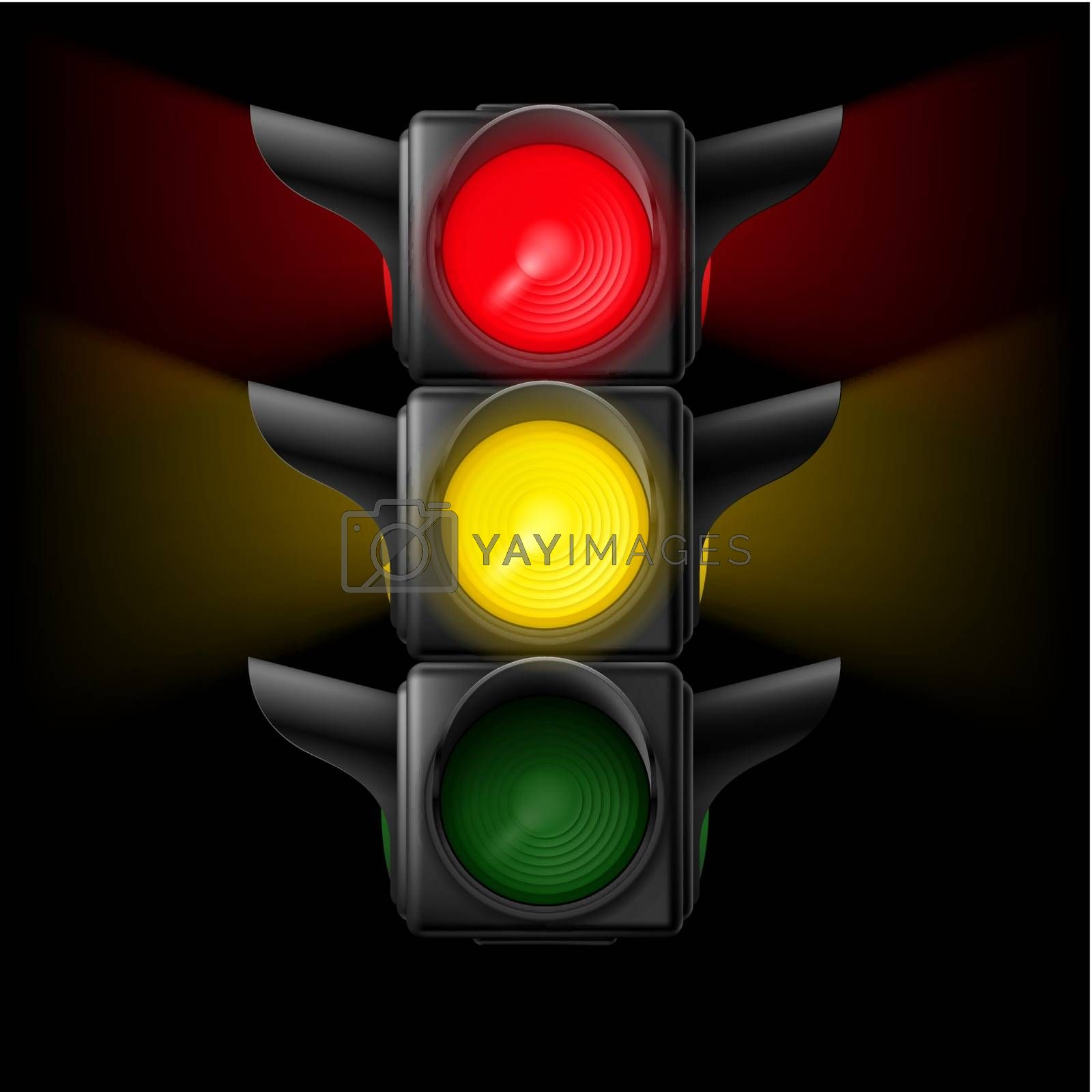 Traffic light by dvarg