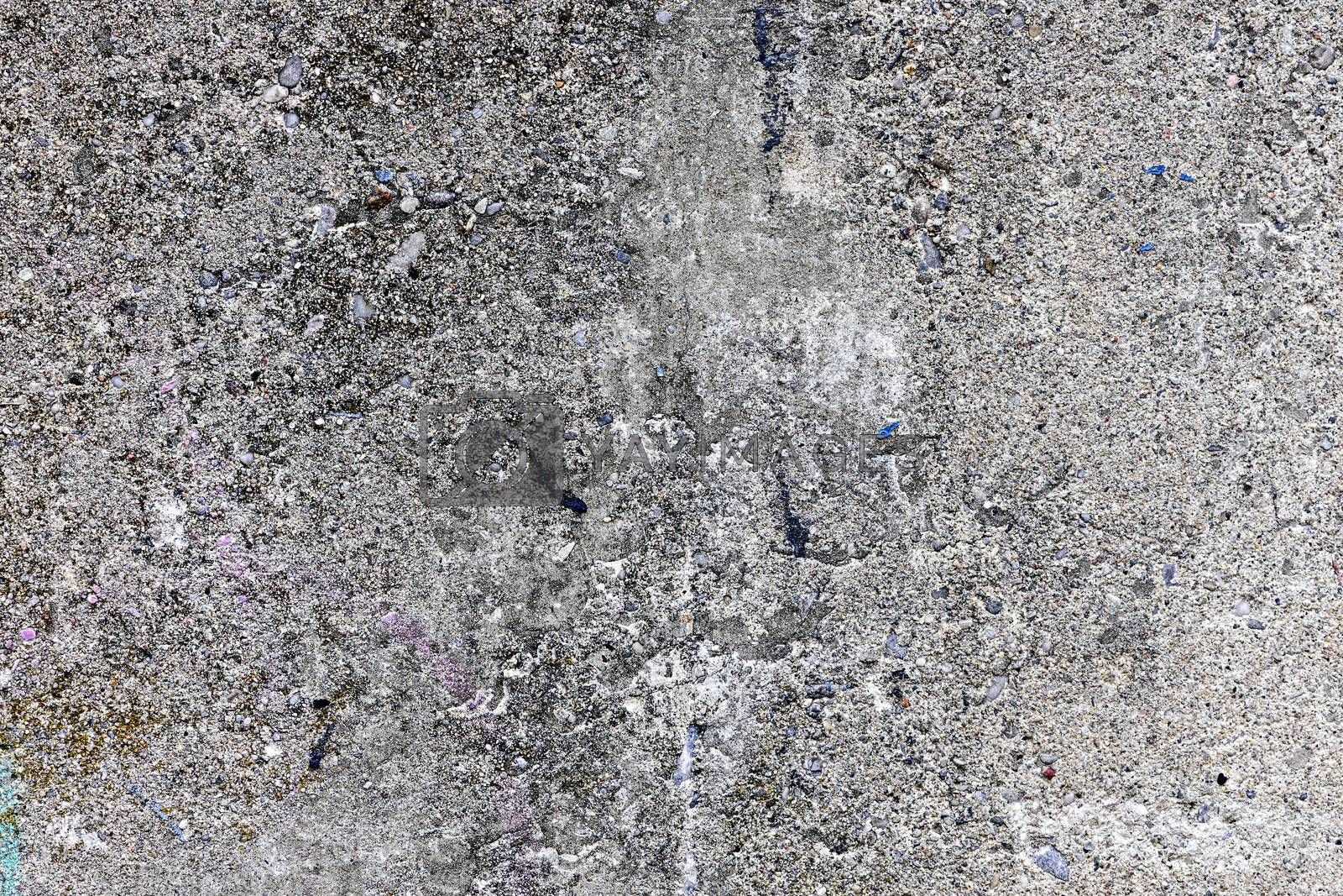 Background of gray concrete with textured surface