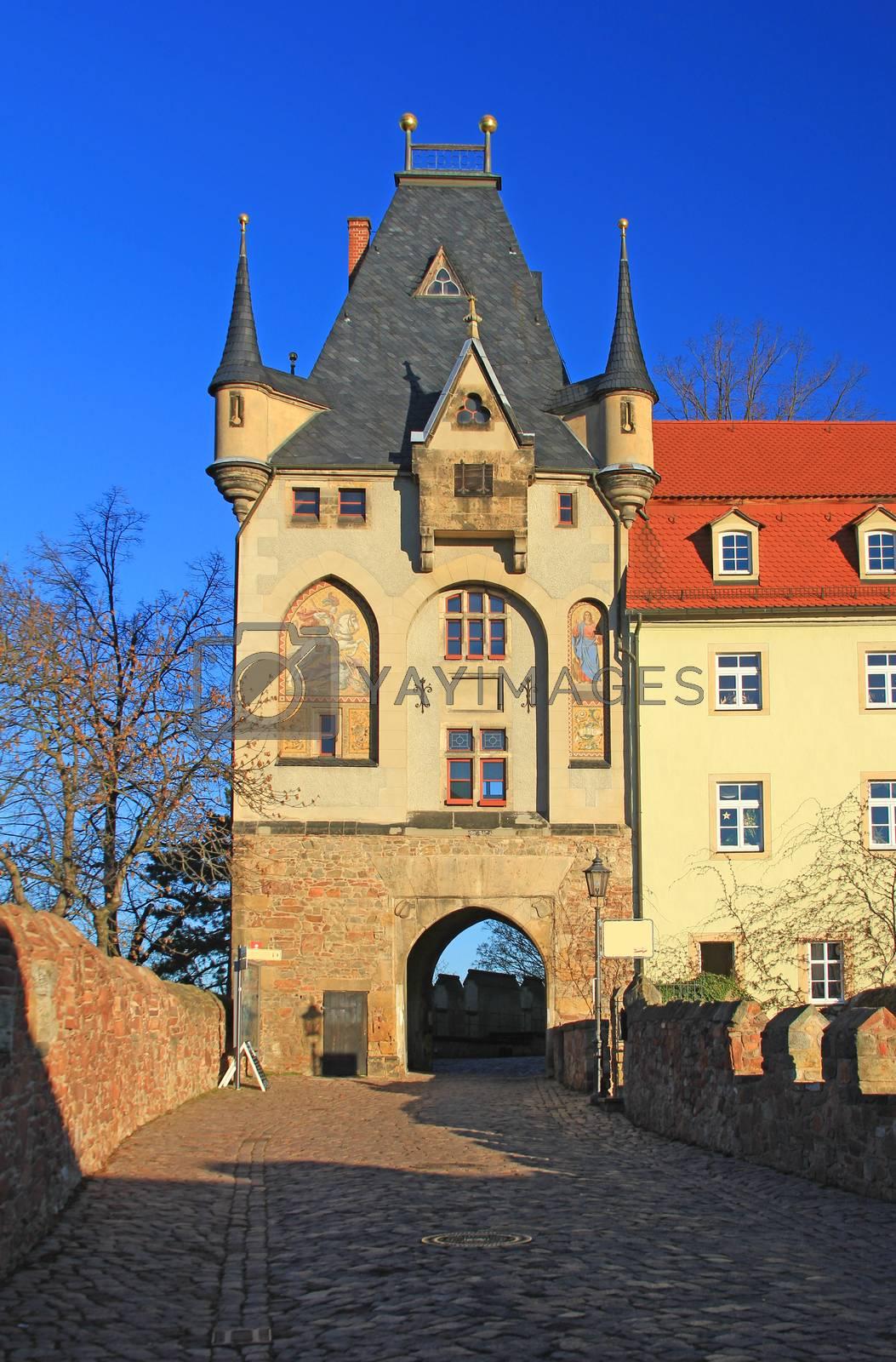 Royalty free image of Torhaus Meissen by jopelka