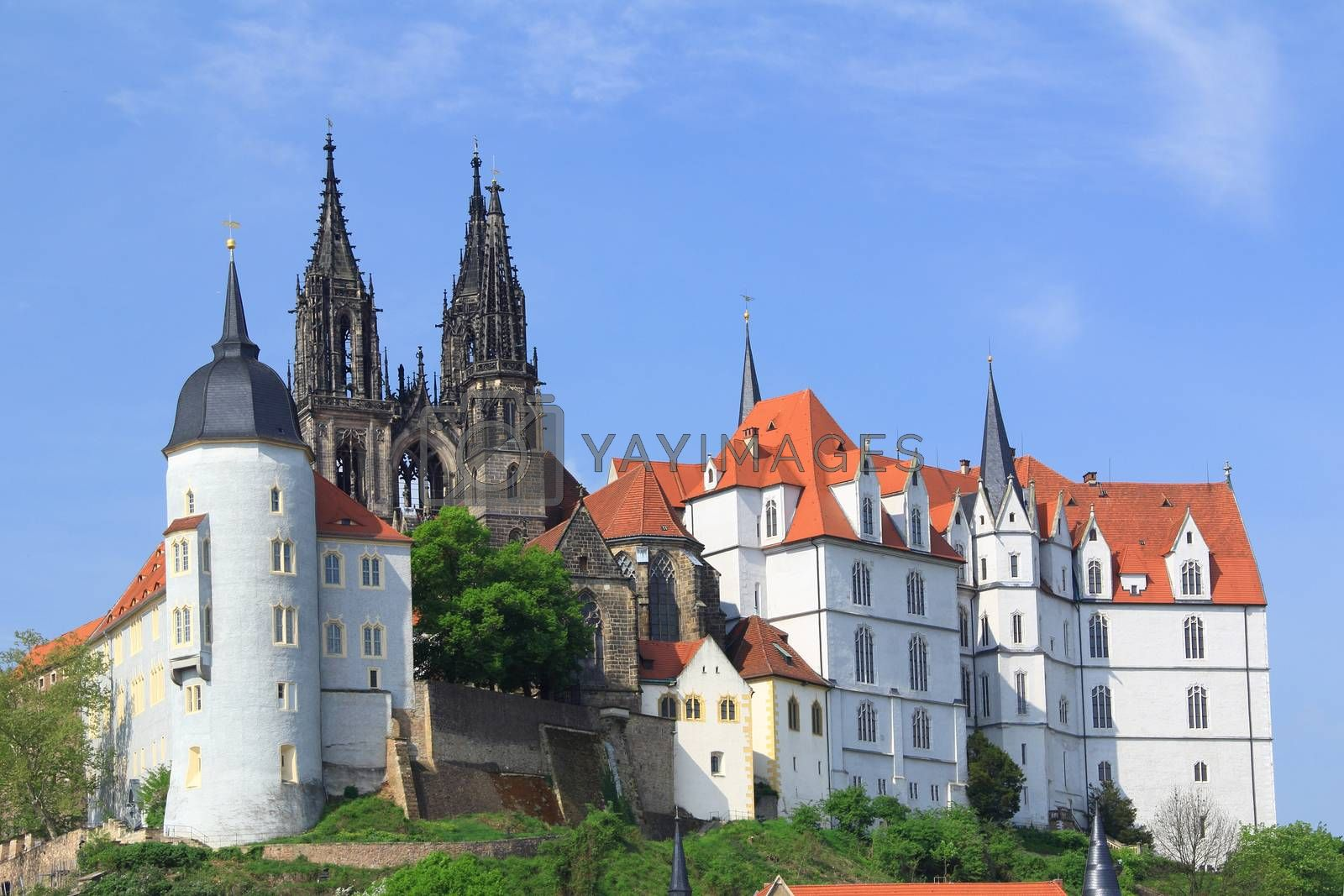Royalty free image of Castle Albrechtsburg Meissen by jopelka