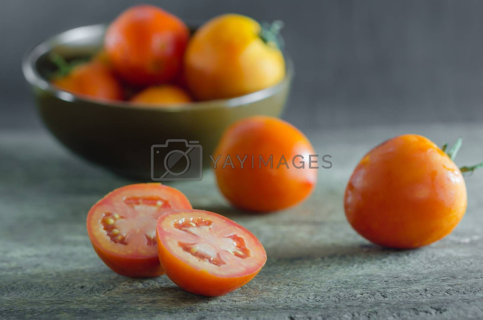 Royalty free image of  tomatoes by rakratchada
