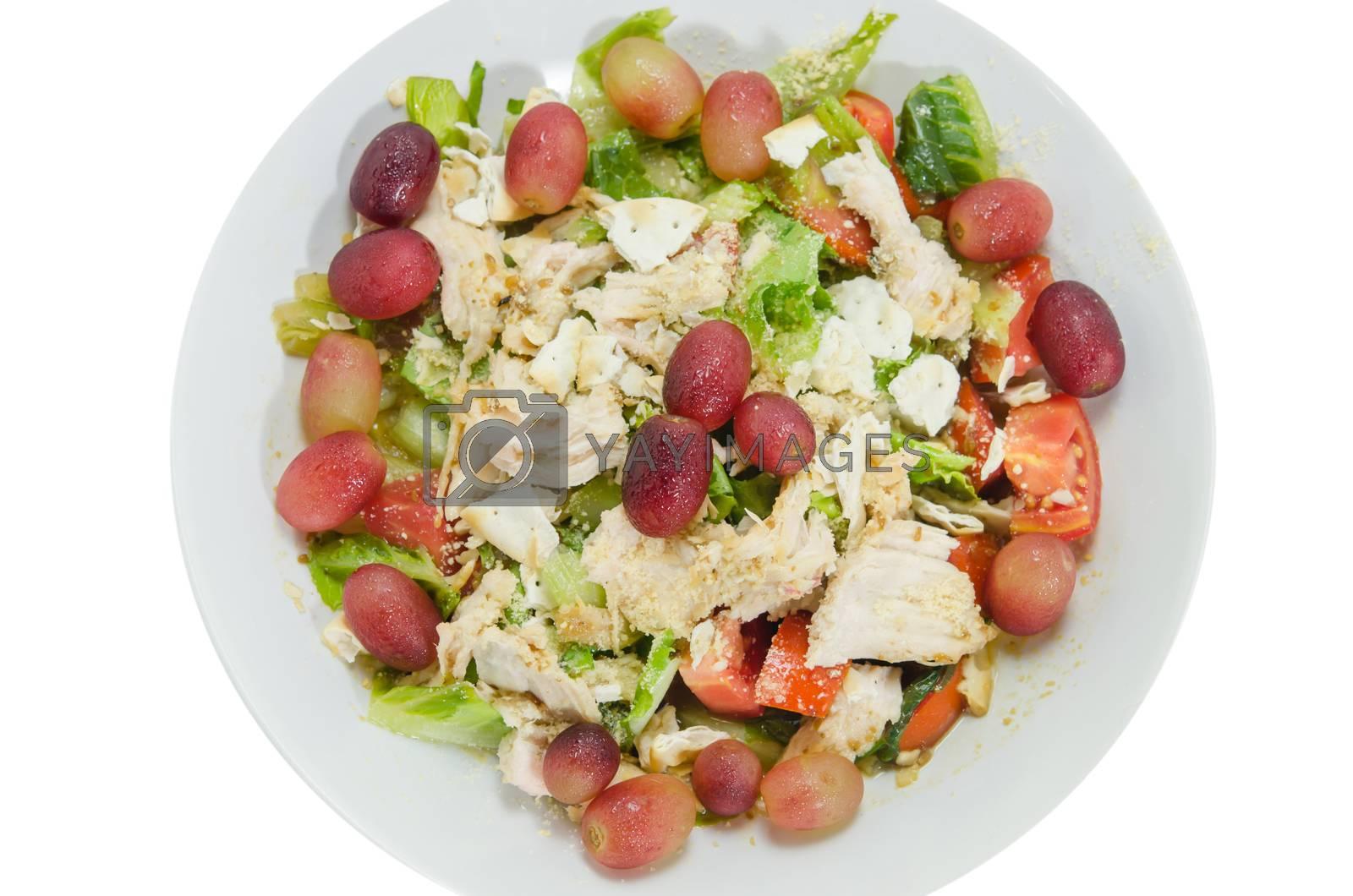 Royalty free image of fresh mix salad by rakratchada