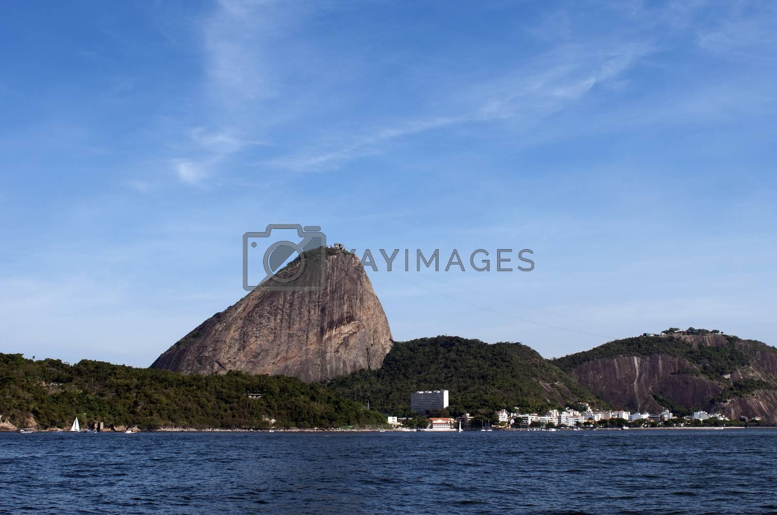 Royalty free image of Sugarloaf Mountain, Rio de Janeiro - Brazil by rodrigobellizzi