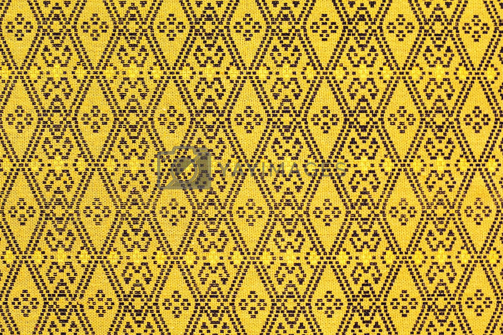 Royalty free image of Sarong pattern by NuwatPhoto