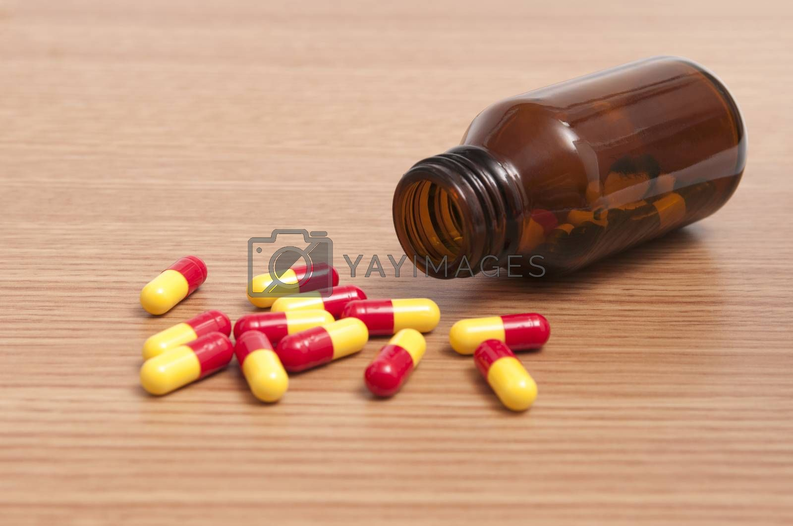 Royalty free image of Capsules and Pills by rodrigobellizzi