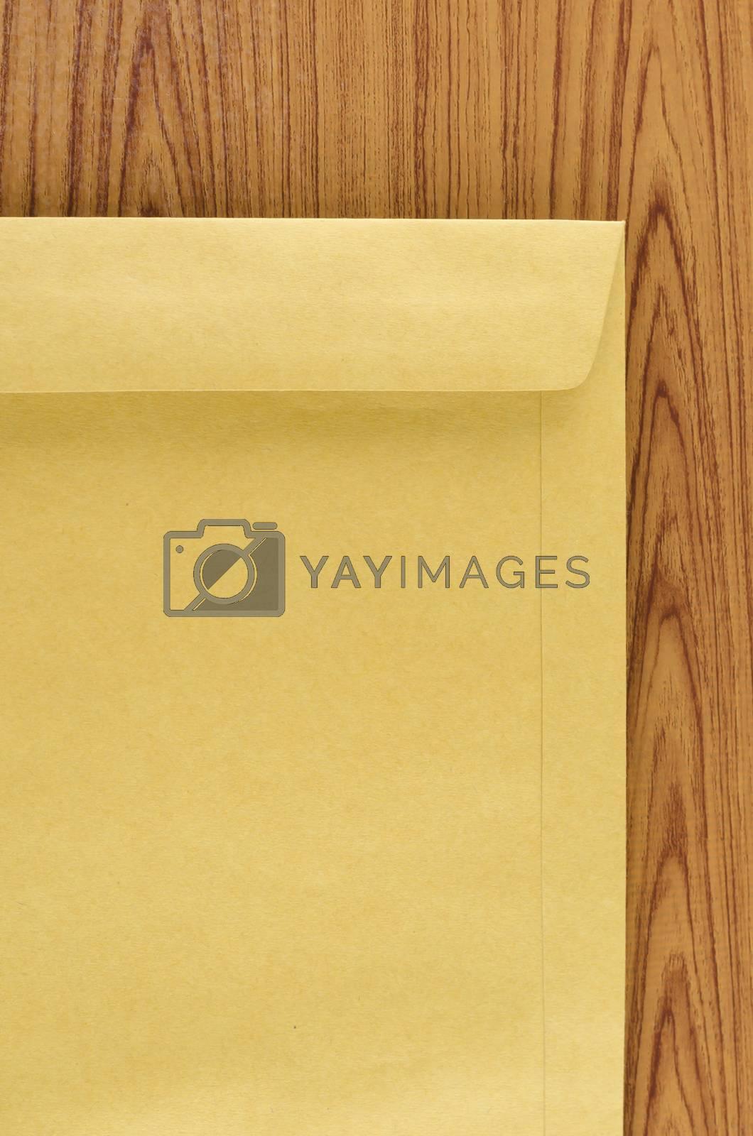 Royalty free image of brown envelope by ammza12