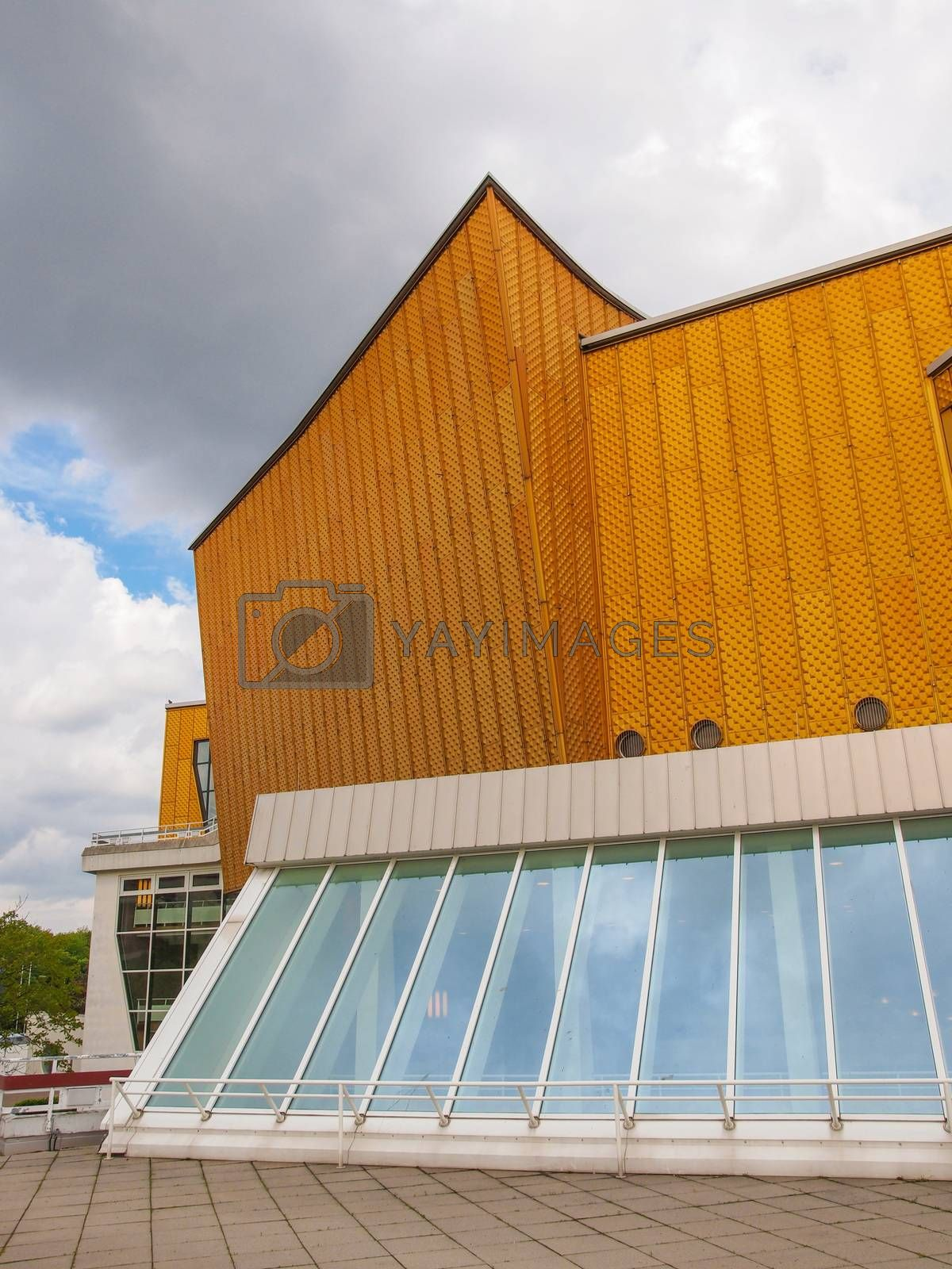 Royalty free image of Berliner Philharmonie by claudiodivizia