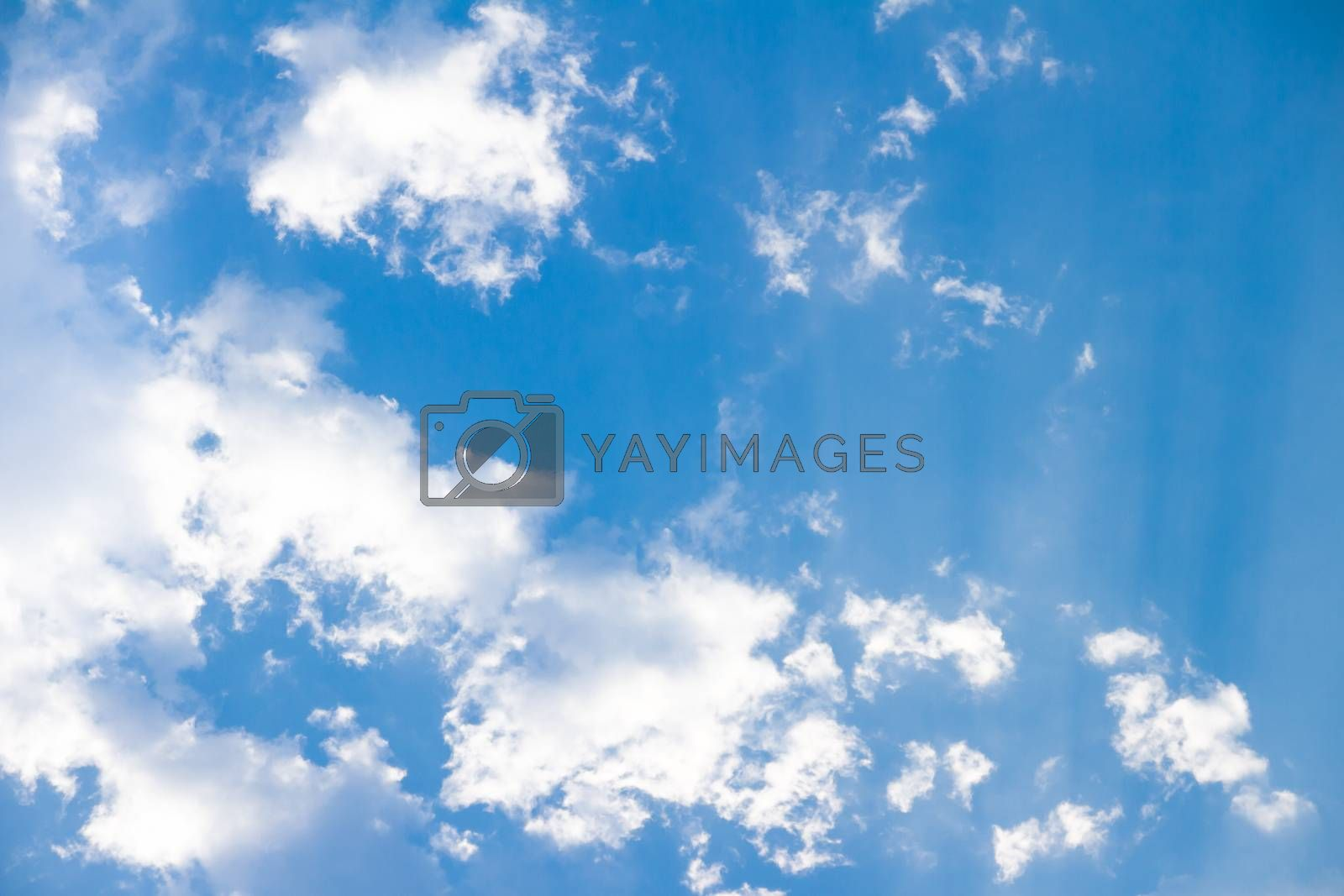 Royalty free image of Blue sky with clouds by kasinv