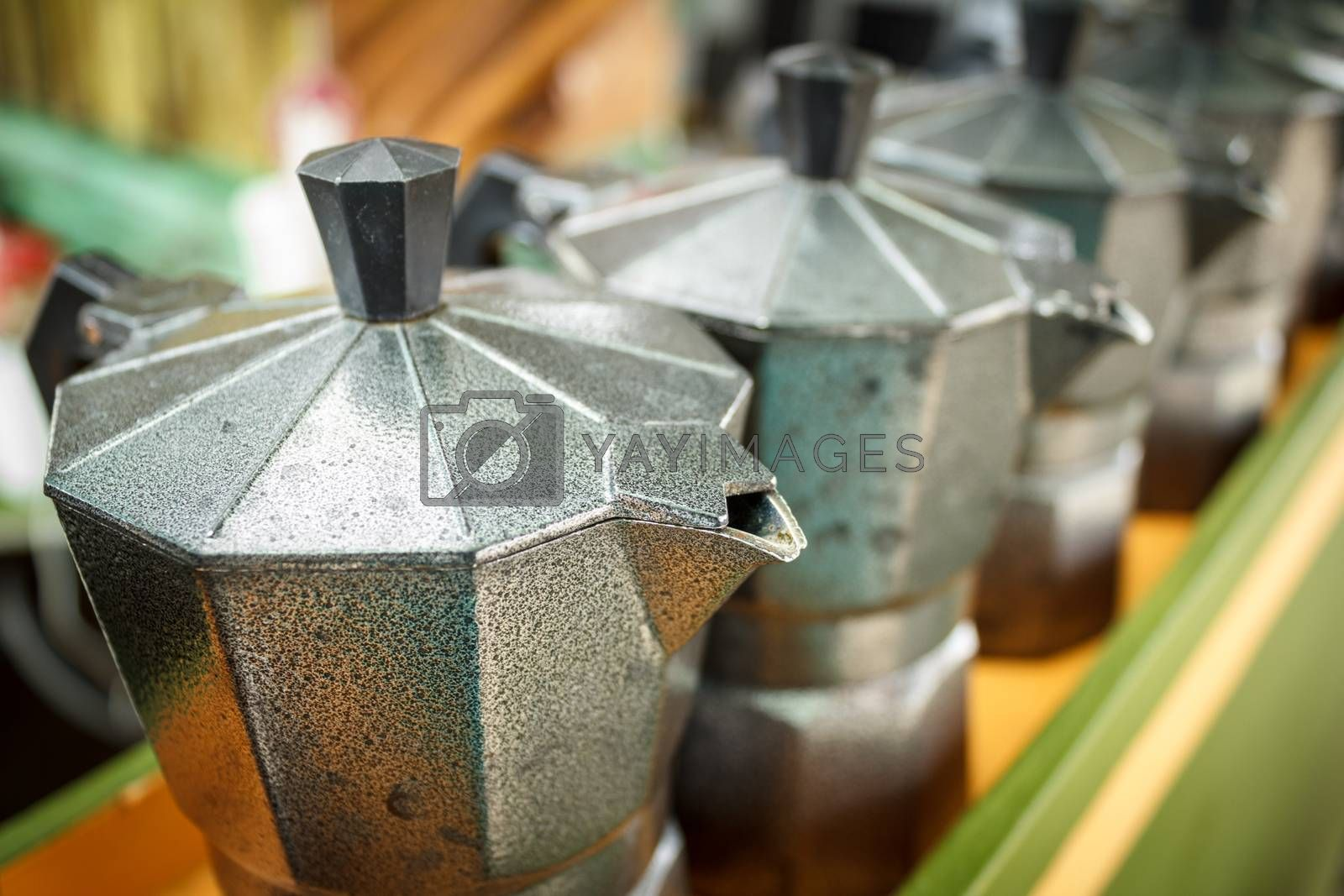 Royalty free image of Tea kettle by letoakin