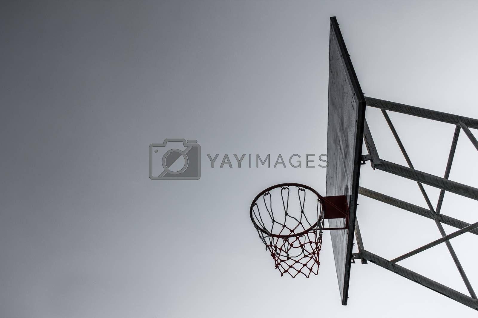 Royalty free image of Basketball Hoop by letoakin