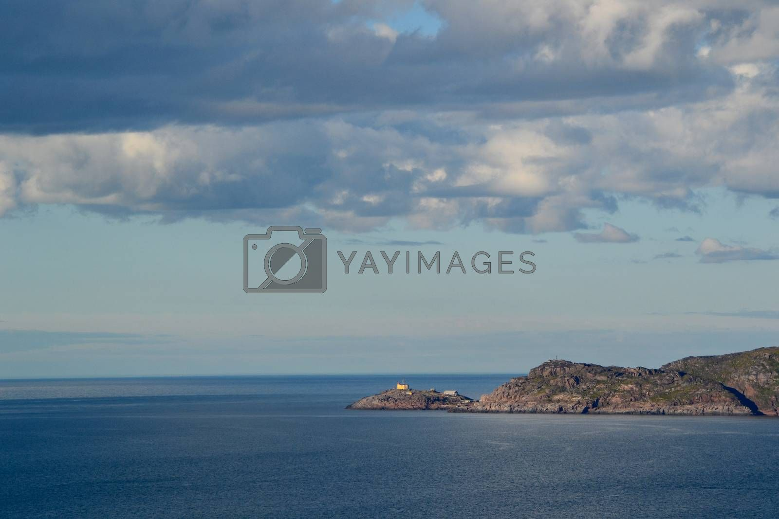 Royalty free image of View of the Barents sea by ruv86