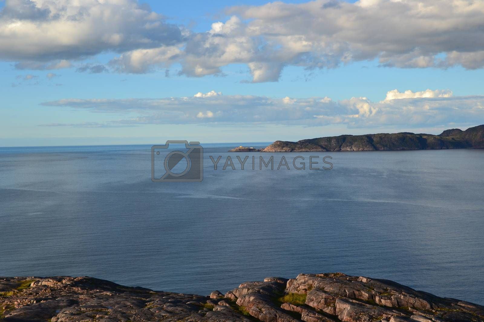 Royalty free image of Barets sea and sky by ruv86