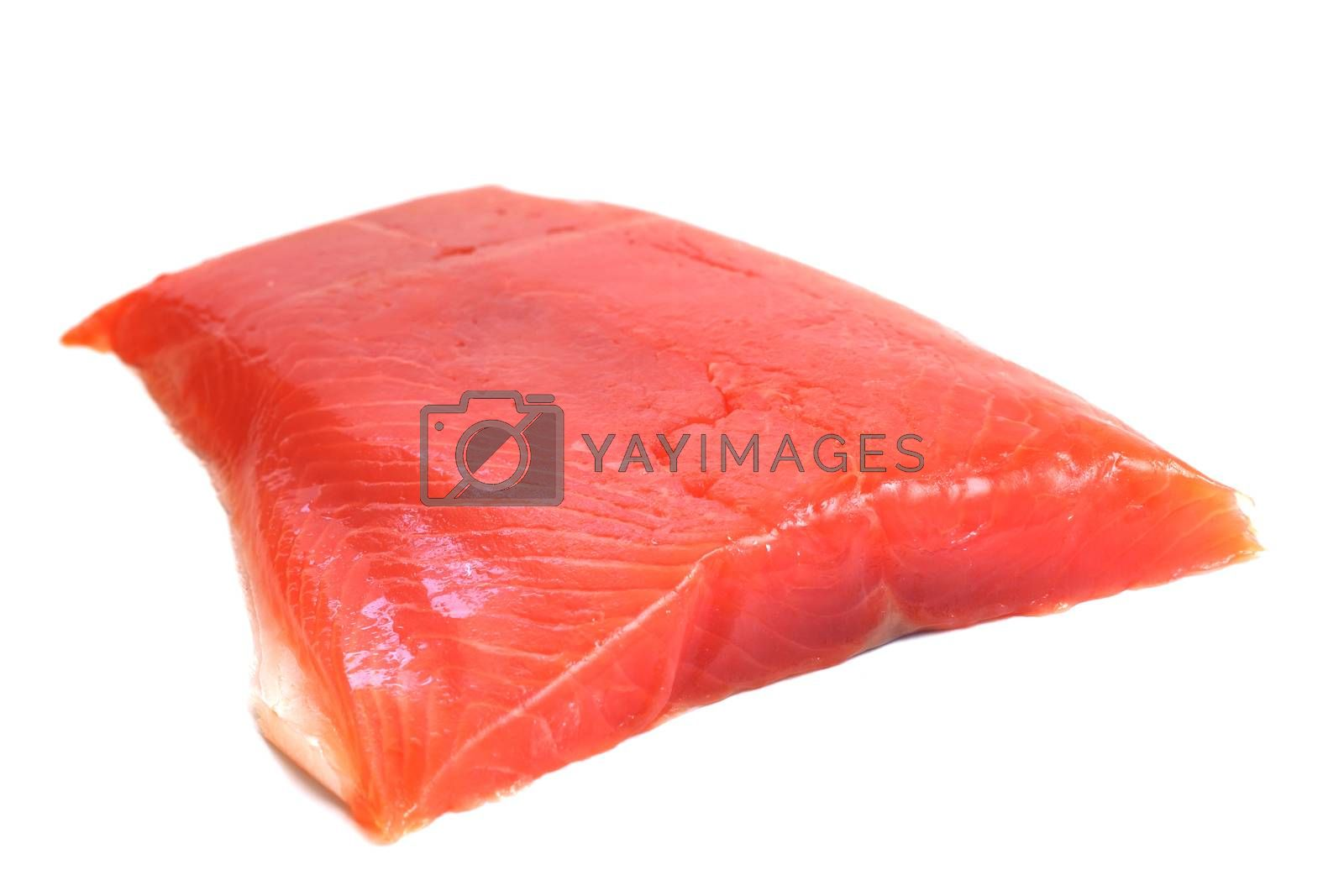 Royalty free image of Salmon raw fillet by destillat
