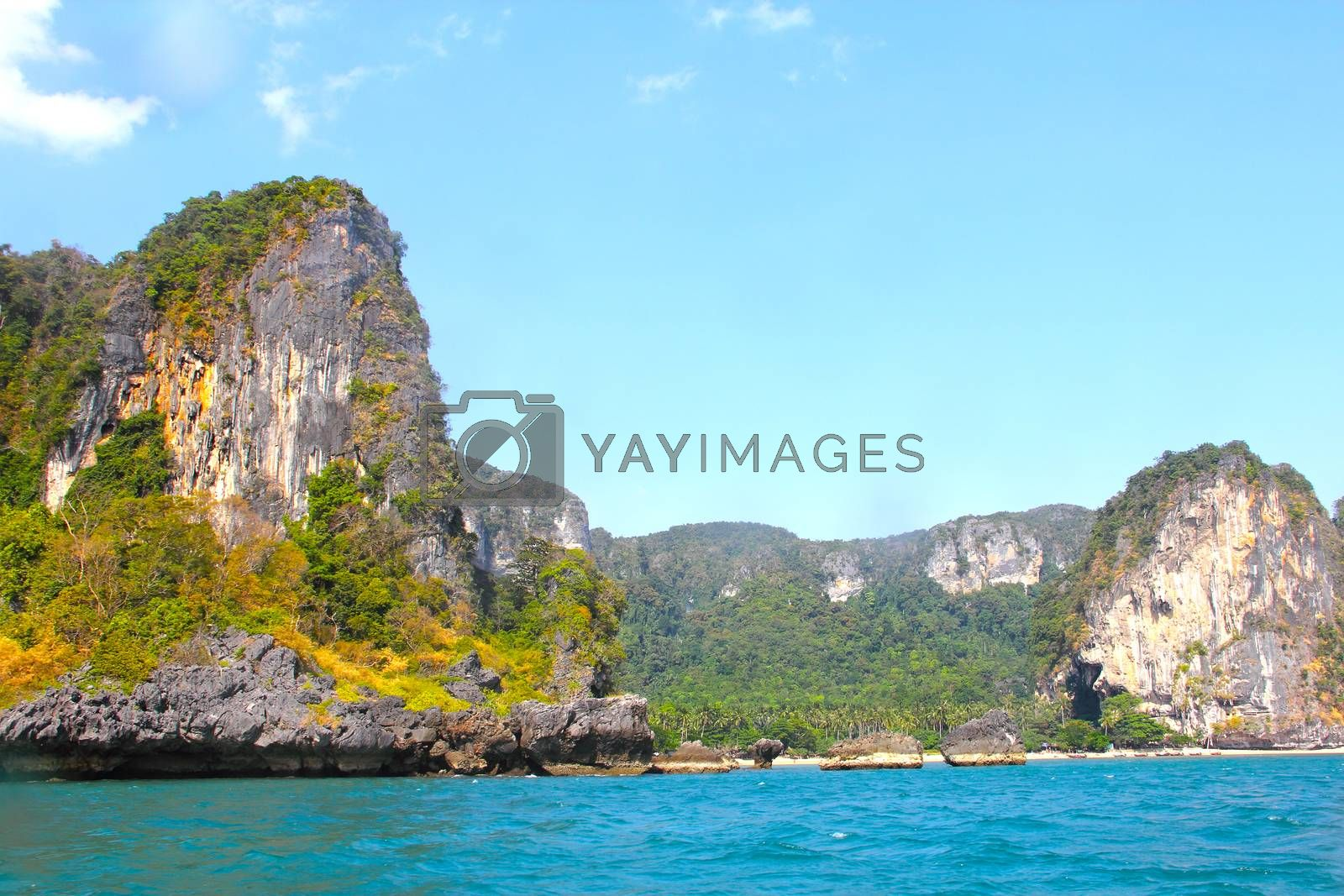Royalty free image of Island in Thailand by destillat