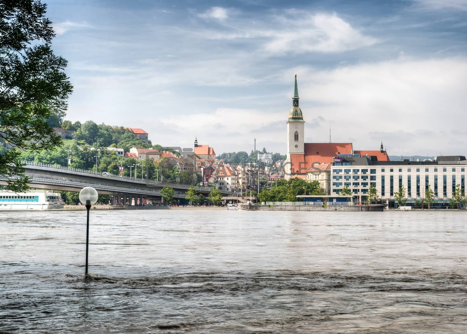 Royalty free image of Flood in the city by Kayco