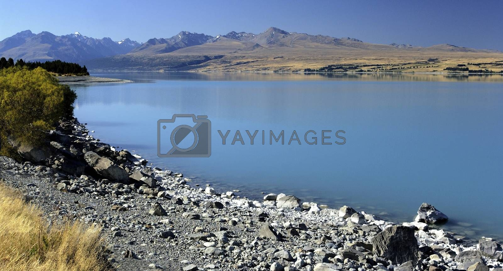 Royalty free image of Mount Cook National Park - New Zealand by SteveAllenPhoto