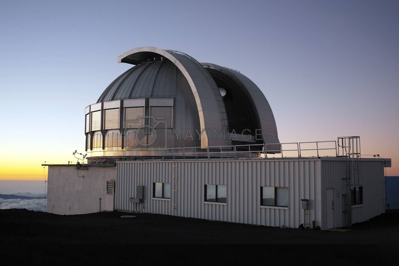 Royalty free image of Astronomical Observatory - Hawaii - USA by SteveAllenPhoto