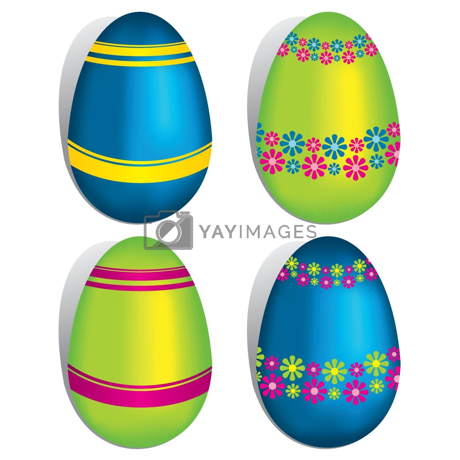 Royalty free image of Easter Eggs by nicousnake