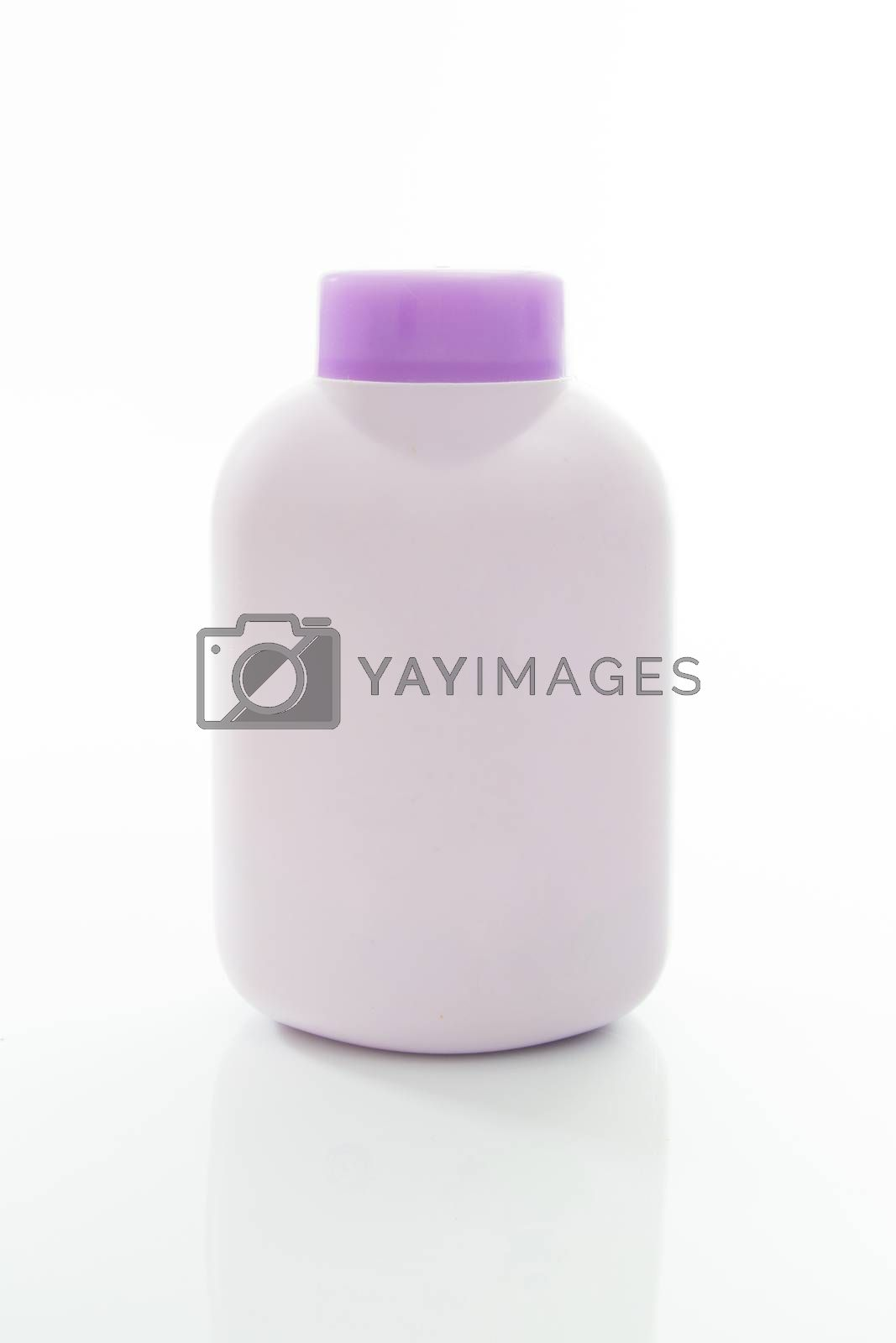 Royalty free image of Cosmetic bottle by theerapoll