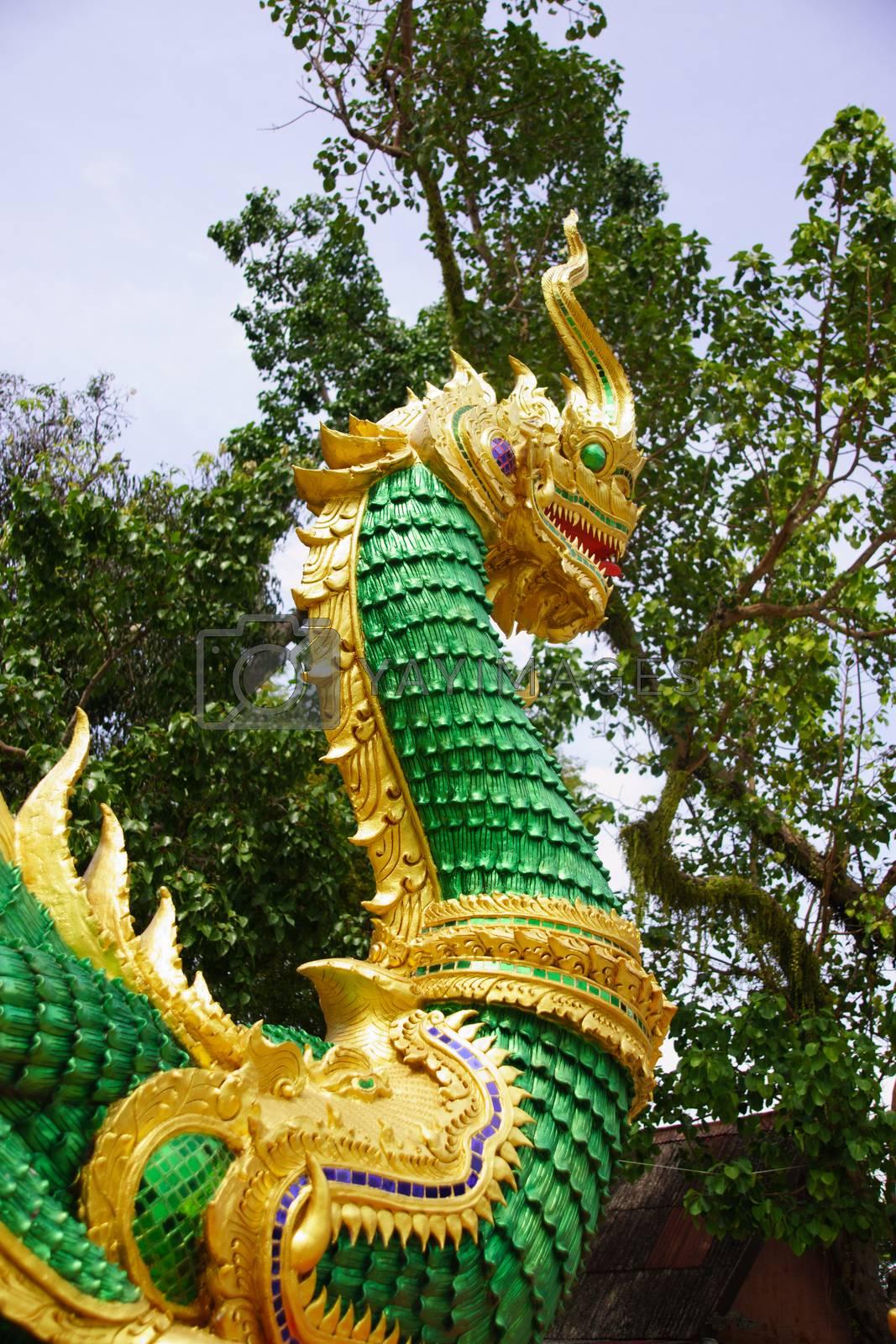 Royalty free image of naga by nattapatt