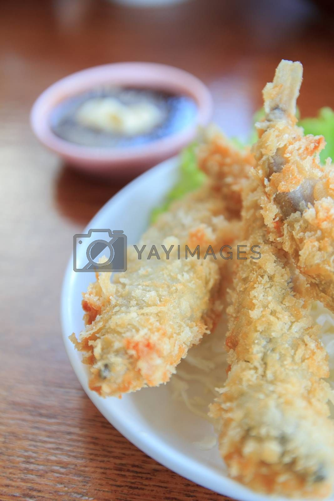 Royalty free image of fish fry by theerapoll