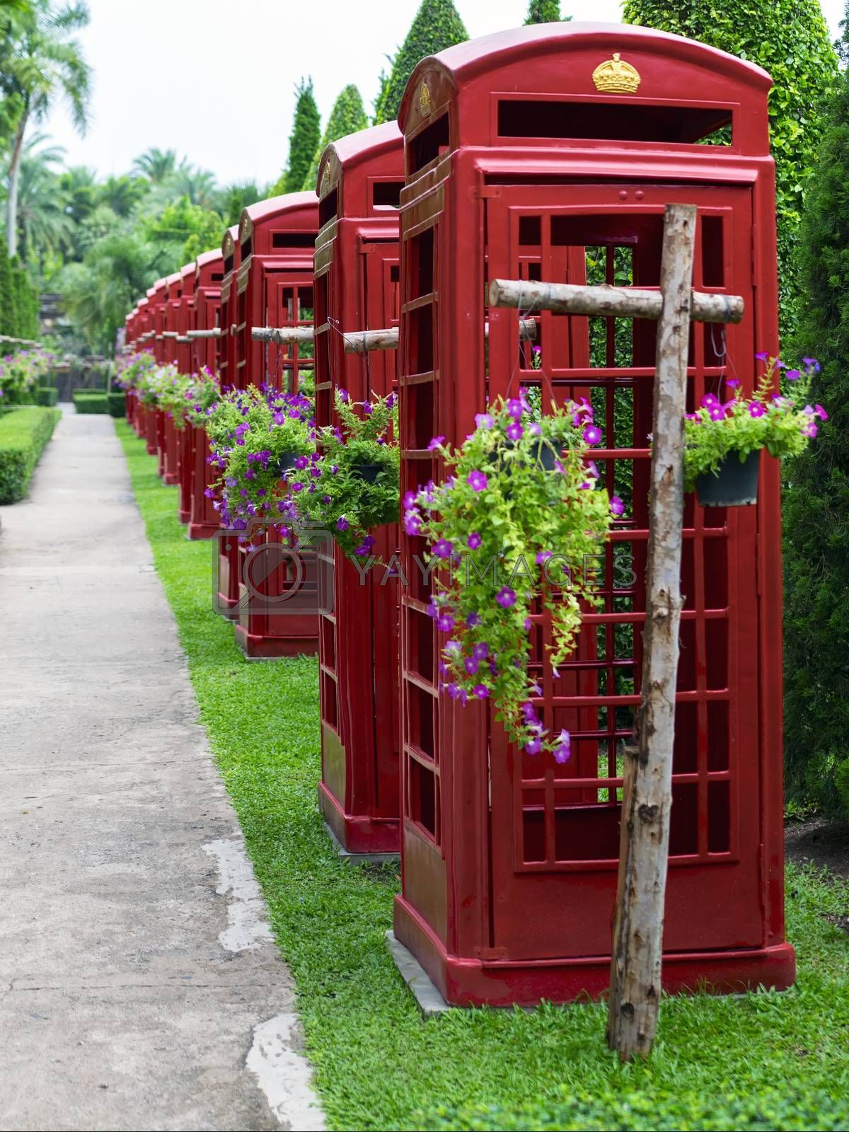 Royalty free image of Phone Booth. by GNNick