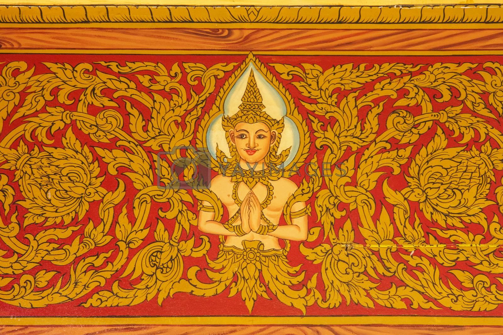 Royalty free image of thai pattern by nattapatt