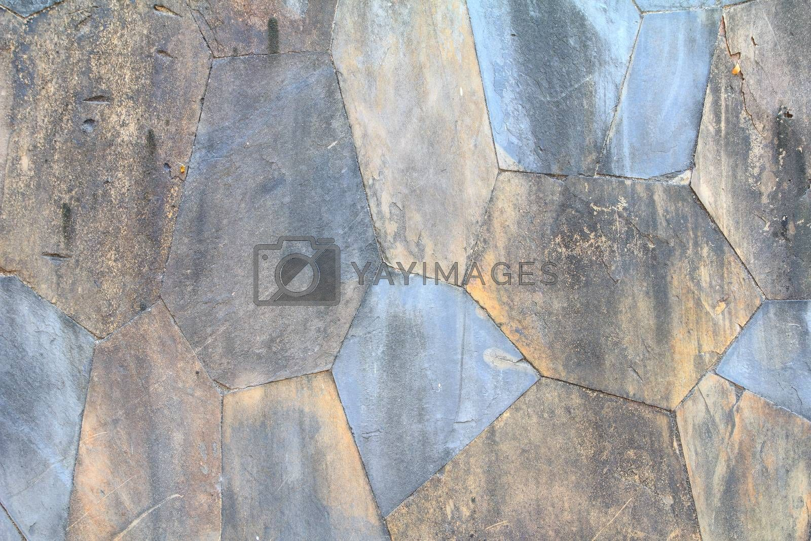 Royalty free image of Stone wall  by theerapoll